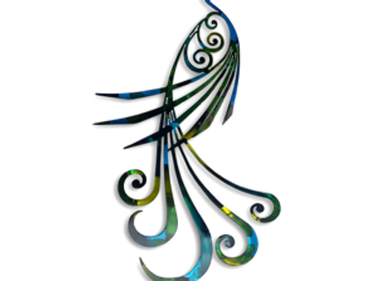 Pinstripe Peacock