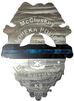 McCluskey Topeka Badge_Custom_MetalWork_