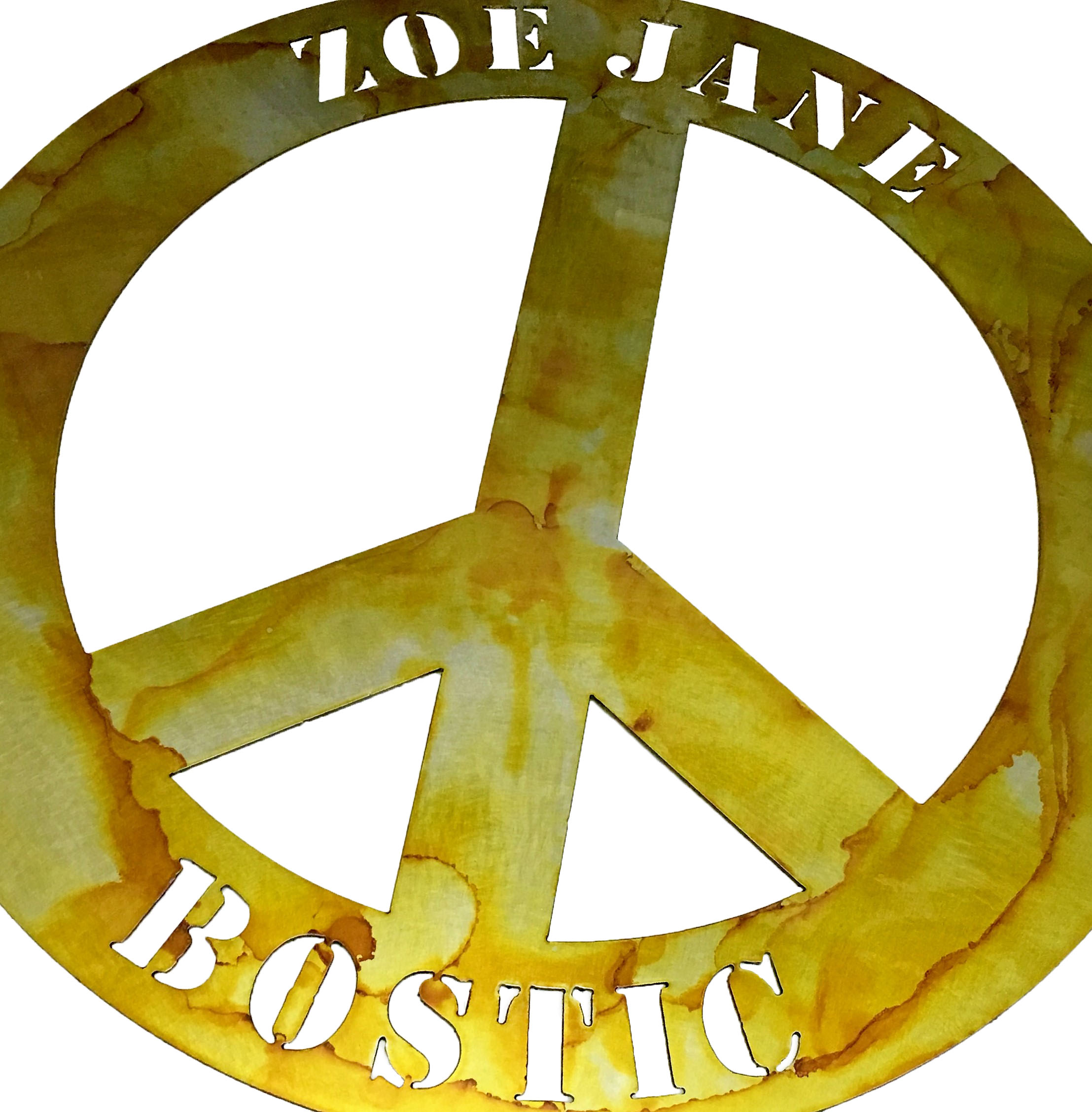Peace Sign_ZoeJane_Custom_MetalWork_Smal