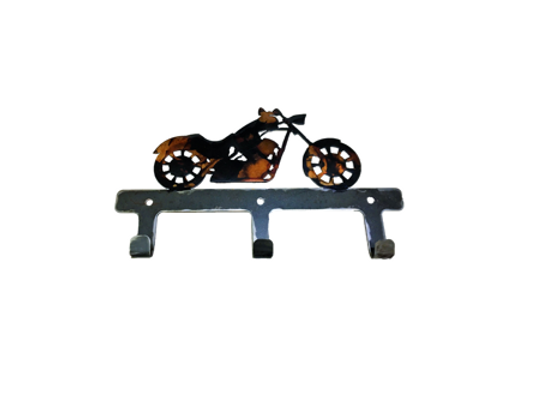 Motorcycle Key Ring