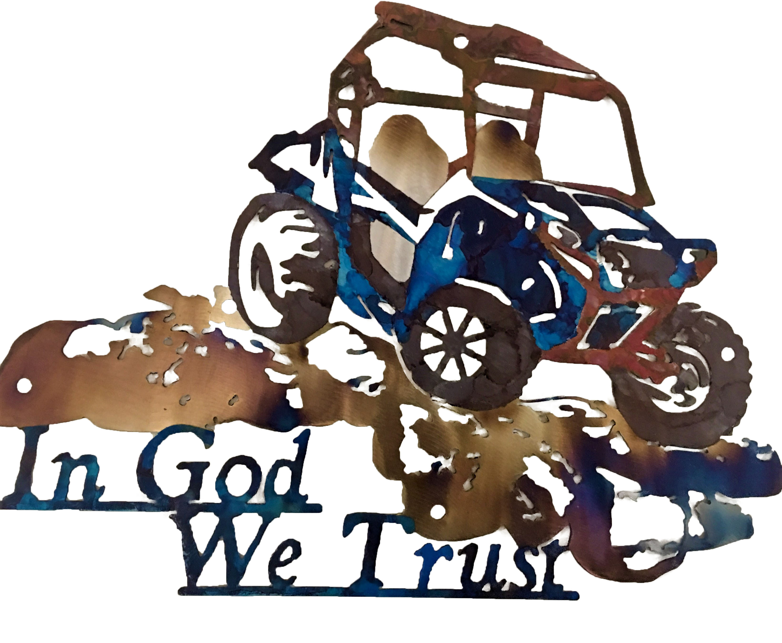 In God We Trust_RZR_Custom_BluePolish