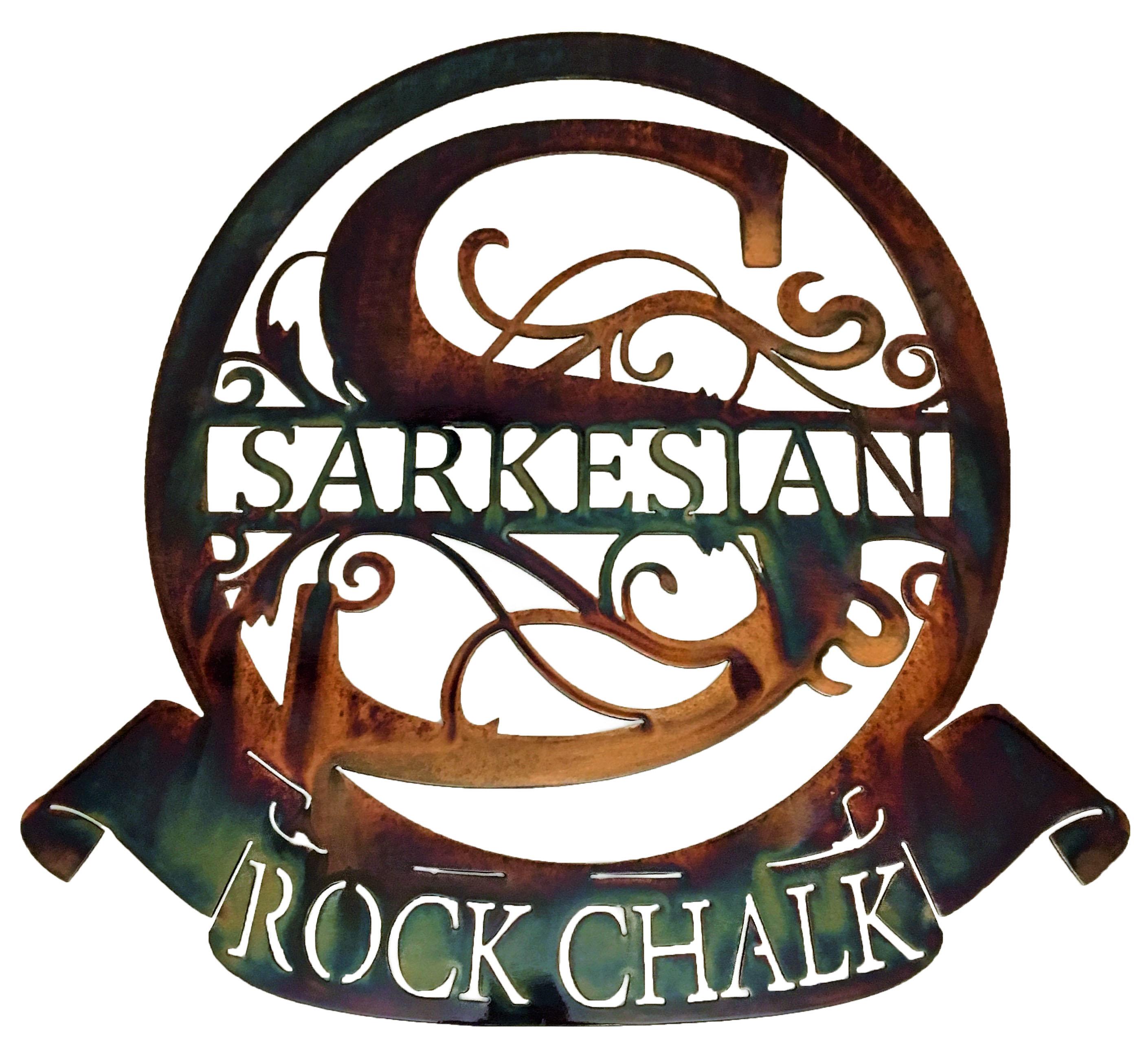Sarkesian Monogram_RockChalk_AuburnPrism
