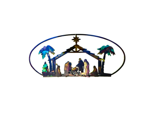 Nativity Scene, 3D Large