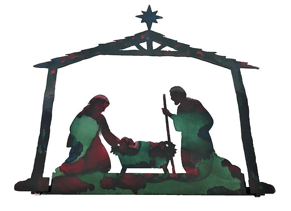 Stable Nativity Scene, 2D (Small)