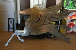 Gas Sign, Pegasus