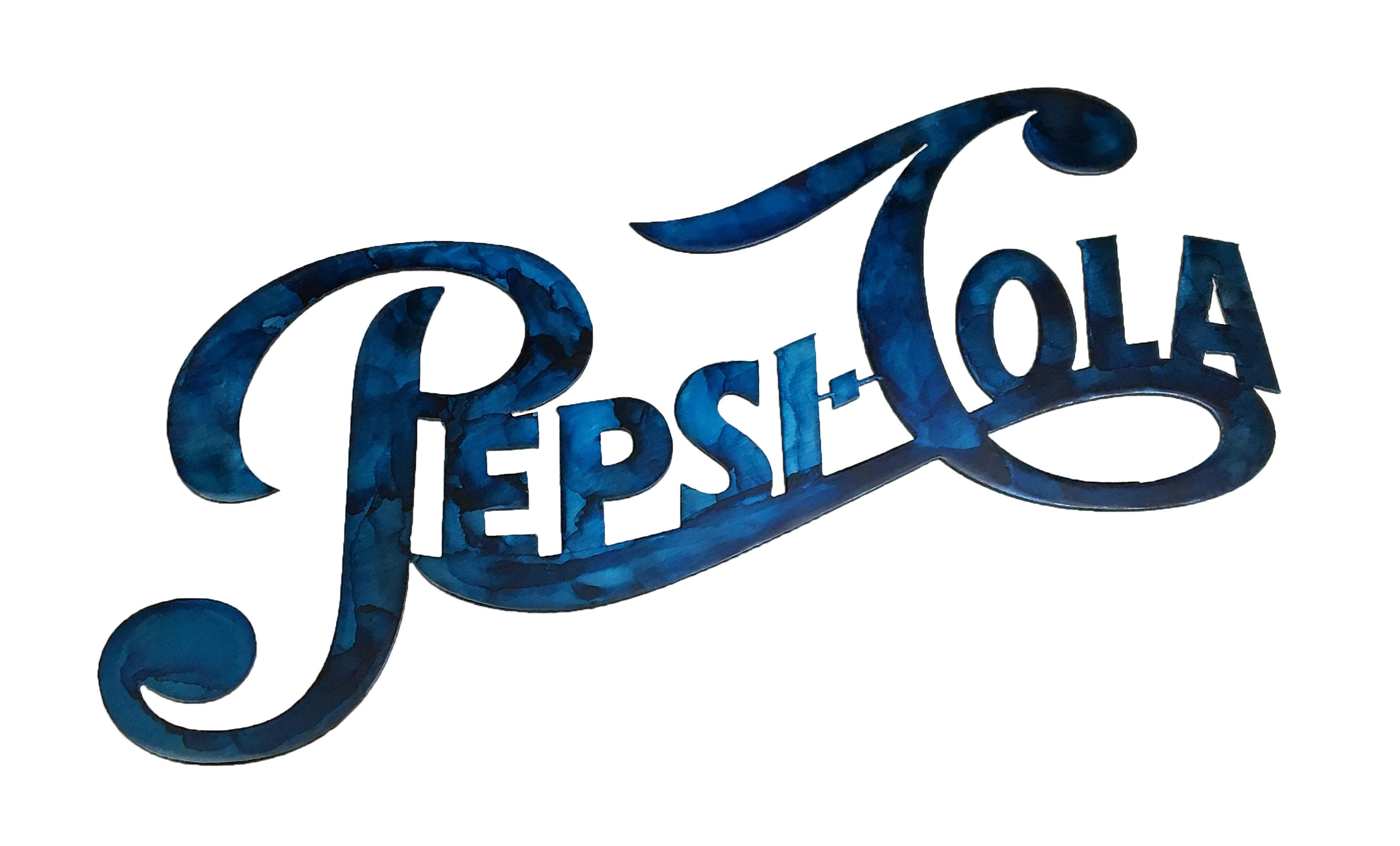 Pepsi-Cola Custom_Blue
