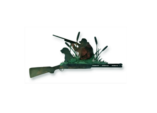 Shotgun Hunting Scene