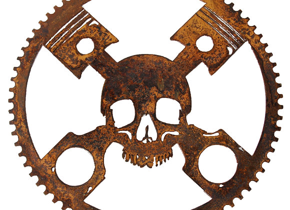 Skull and Pistons