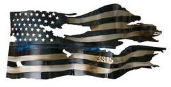 3815 Custom Thin Blue Line Flag