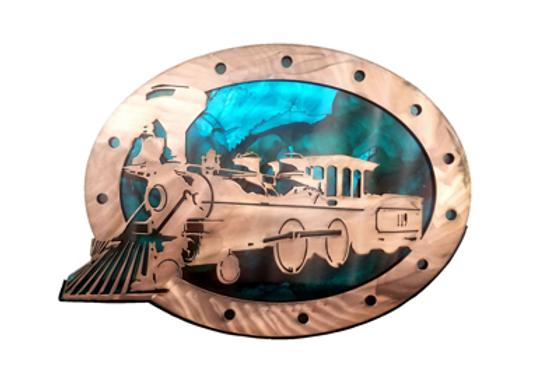 "Train ""119"", Double Plate"