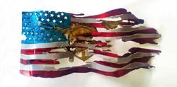 Flag with Trident_Custom