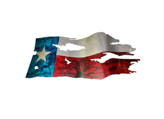 Texas Torn and Tattered Flag