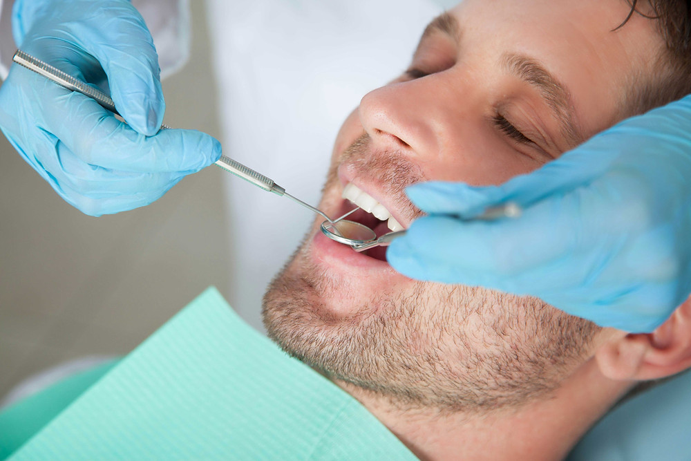 Schedule an appointment for an oral exam.