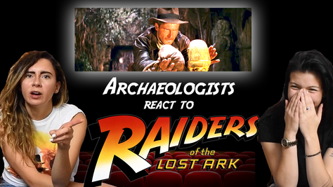 Archaeologists React to: Indiana Jones- Raiders of the Lost Ark