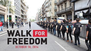 Walk For Freedom - Sat 18th Oct