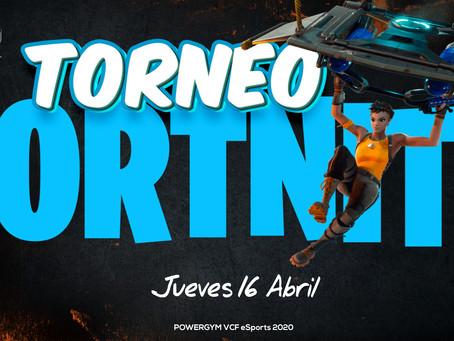 Torneo de FORTNITE online para apoyar el #yomequedoencasa