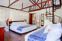 Pool side cabin