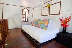 Cabin's loft