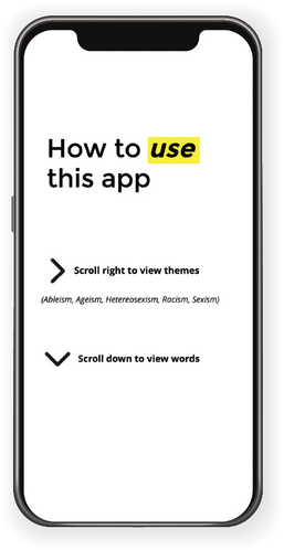 How to Use this App Section