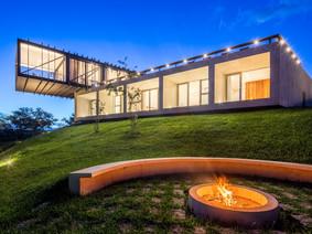 Inspiração: Casa Cigarra tem volumetria intrigante e contemplação da paisagem