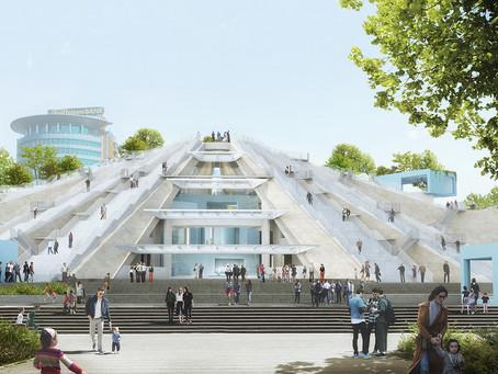 Começa a construção da Pirâmide Tirana