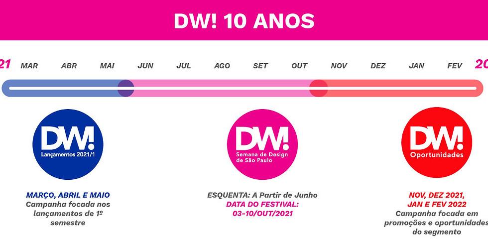 DW! 10 ANOS JÁ TEM DATA MARCADA. CONFIRA AS NOVIDADES!