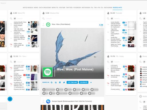 Socialbeat si veste di una nuova grafica, live la nuova release