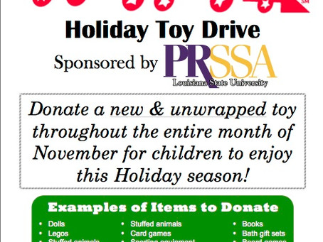 PRotecting Future Tigers: Toys for Tots and food drive happening now through Nov. 30