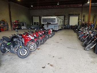 cours de moto