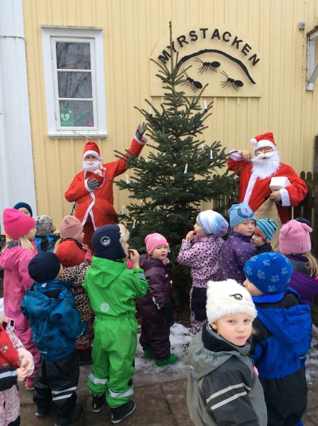 Julkulpå förskolan