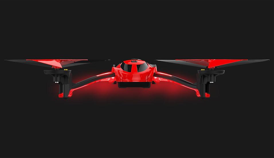 Alias Quad-rotor Heli