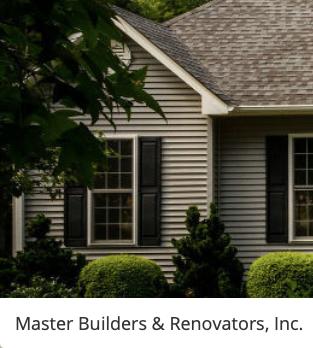 MASTER BUILDERS & RENOVATORS