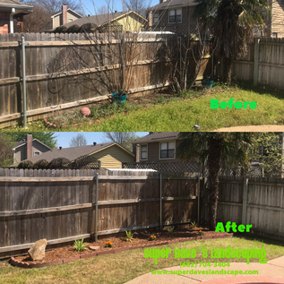 Flowerbed Cleaned out in Arlington, TX