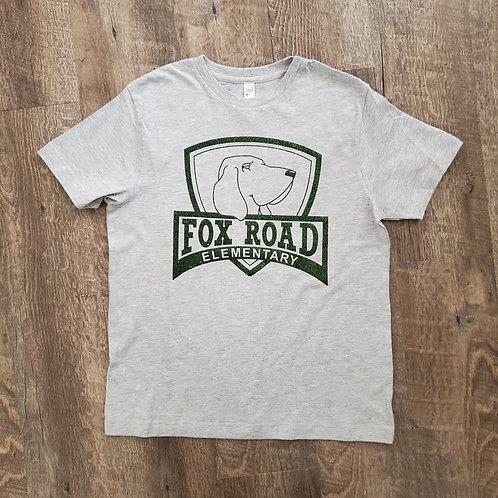 Fox Road Glitter Logo T-Shirt