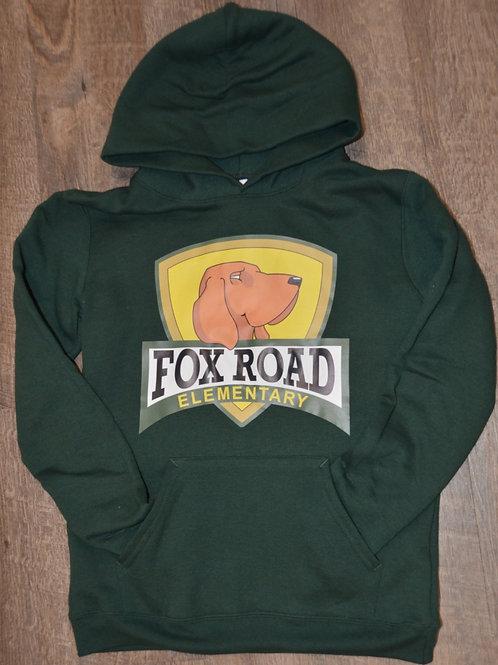 Fox Road Full Color Logoed Hoodie