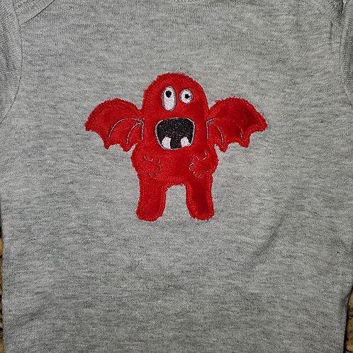 Fuzzy Monster Shirt Infant/Toddler