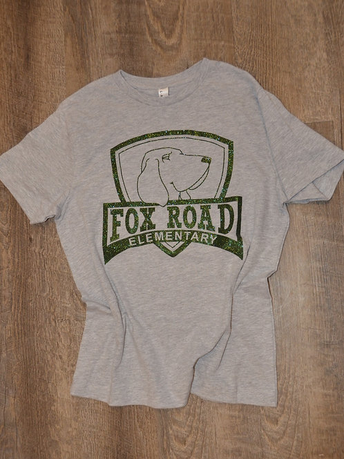 Fox Road Glitter Logo T-Shirt