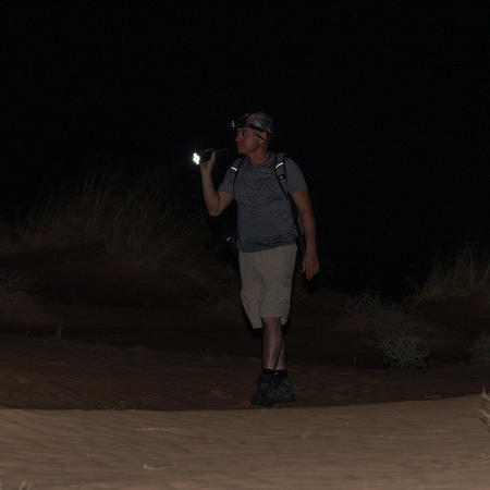 Desert Night in the Negev October 24th 2013 and August 2020