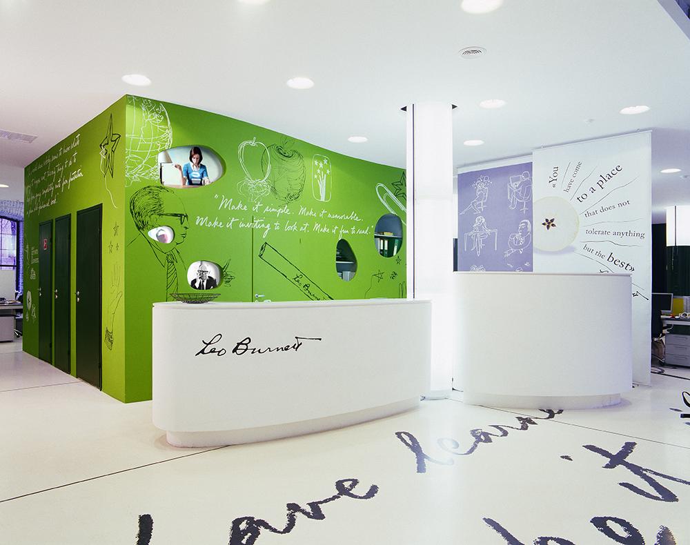 Nefa architects leo burnett Burnett Office Leo Burnett Vox Architects Leo Burnett Moscow