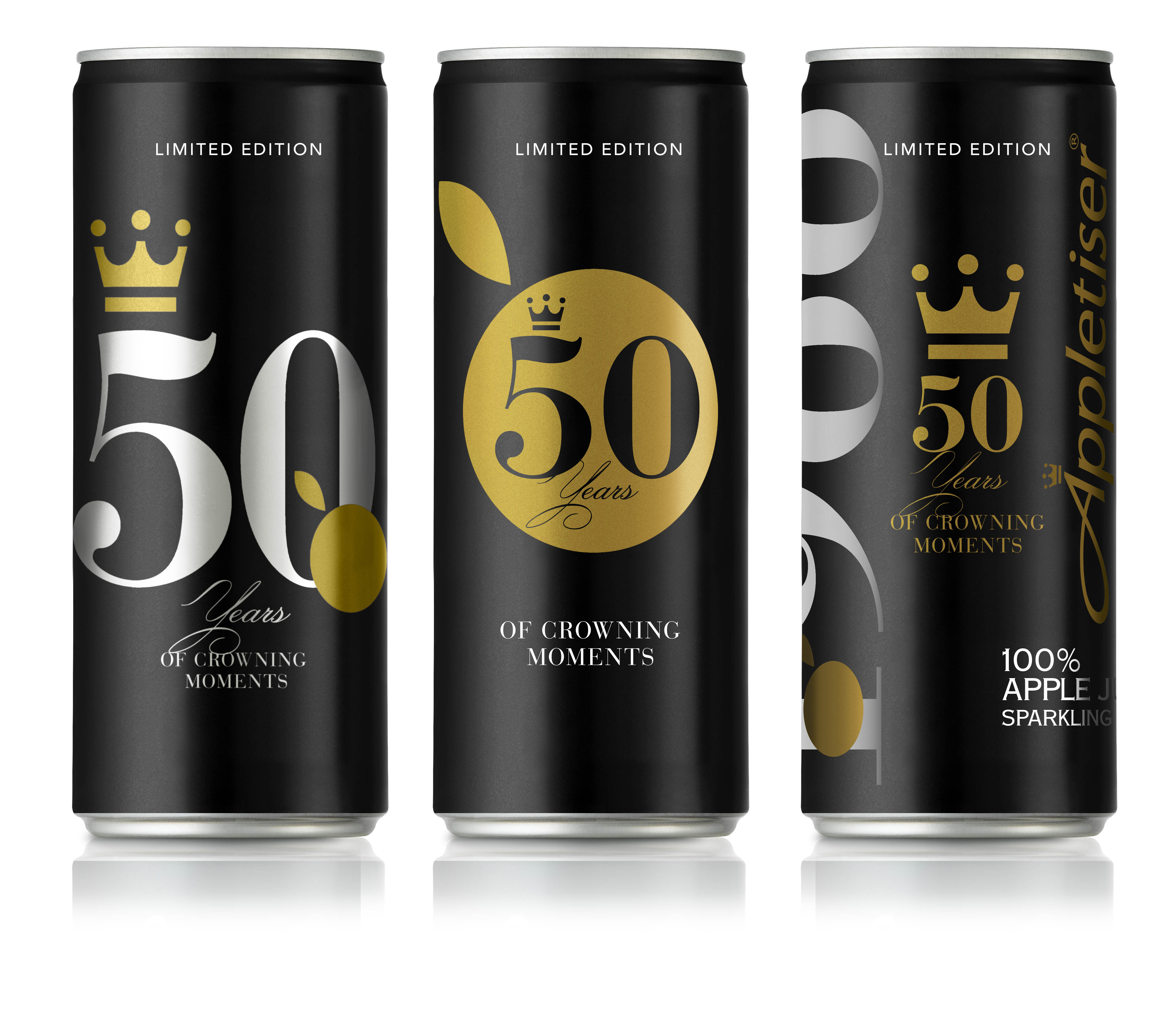 Appletiser 50 Years Cans