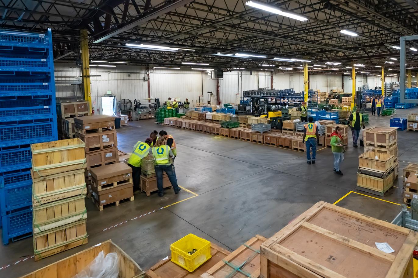 Eldridge Center Square - Warehouse Distribution
