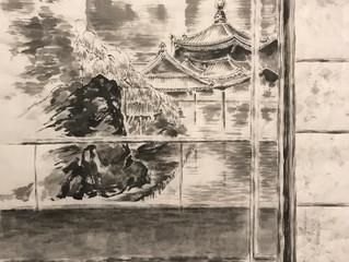 49-я ежегодная выставка «500 лучших работ» Всеяпонской Ассоциации искусства письма тушью в Токио The