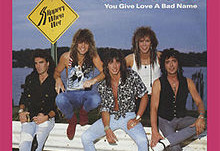 """You Give Love a Bad Name""  by Bon Jovi - Vintage Track"