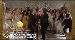 """Evolution of the """"Friends"""" Theme Song 1920s to 1990s ft The Rembrants - Track of the Week"""