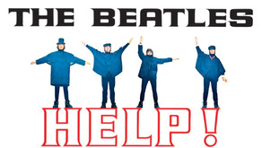 """Help"" by The Beatles - Vintage Track"