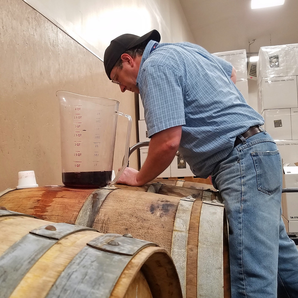 Winemakers for Ceili Winery and Recusant Cellars