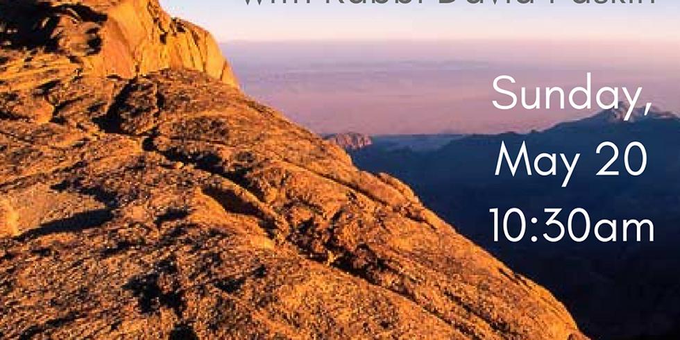 Standing Again at Sinai: Midrash and Memory