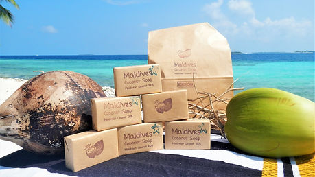 Maldives soap
