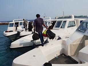 Maafushi boat