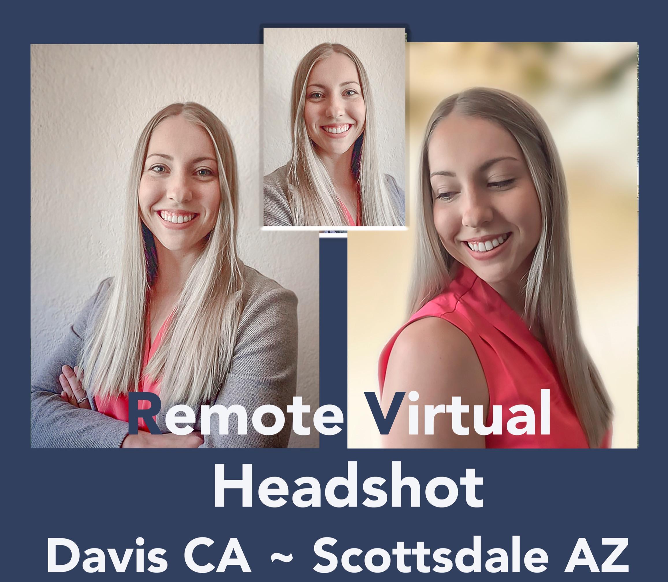 Virtual Headshot Photoshoot Booking